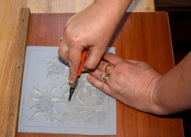 Linocut art tutorials
