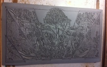24 Blue Mtns Wildflowers CARVING Linoblock Carving Table FINAL